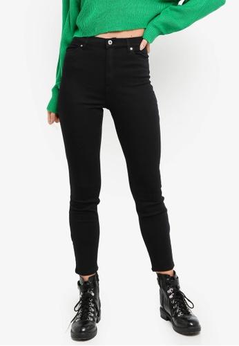 H&M black Stretch Trousers 82323AAB2CB28EGS_1