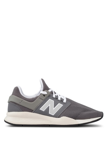 New Balance grey 247 Lifestyle Core Heritage Shoes 45CE9SH6FEDAB0GS_1