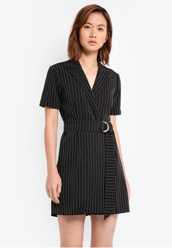 ZALORA black Formal Playsuit D110CAABD64362GS_1