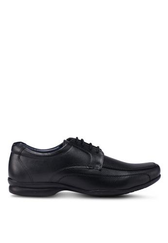 Bata black Laced Up Dress Shoes D3188SHB23B15BGS_1