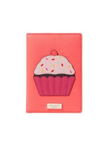 Kate Spade pink Kate Spade Take The Cake Imogene Passport Holder WLR00076 13F74AC725134CGS_1