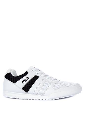 Fila white and multi FC Castro Sneakers 06FD2SHBE0A4EFGS_1