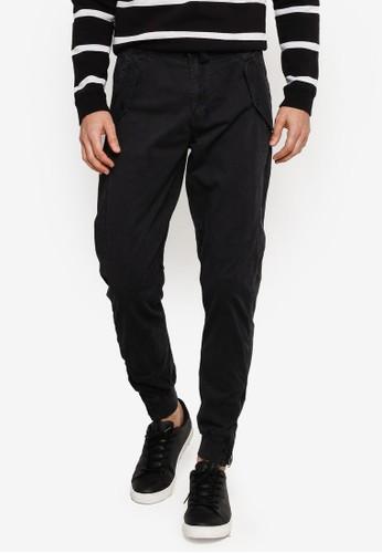 Indicode Jeans black Todd Jogger Pants 9E130AA9C2319BGS_1