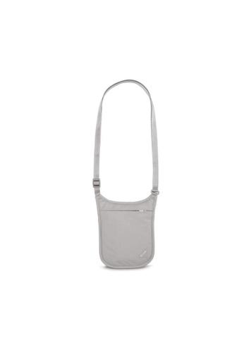 Pacsafe grey Pacsafe Coversafe V75 RFID Blocking Neck Pouch (Grey) 352ADACB473CDDGS_1