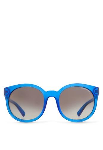 Armani Urban Attitude esprit門市透明圓框太陽眼鏡, 飾品配件, 飾品配件