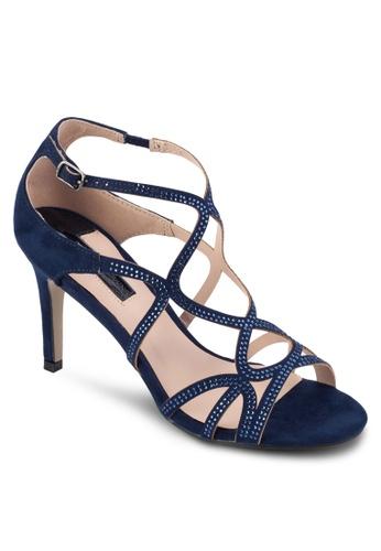 Buy Dorothy Perkins Navy 'Rebekah' Gem Swirl Heel Sandals Online | ZALORA  Malaysia