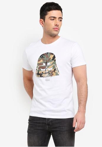 Cotton On 白色 短袖印花T恤 B1878AA2903076GS_1