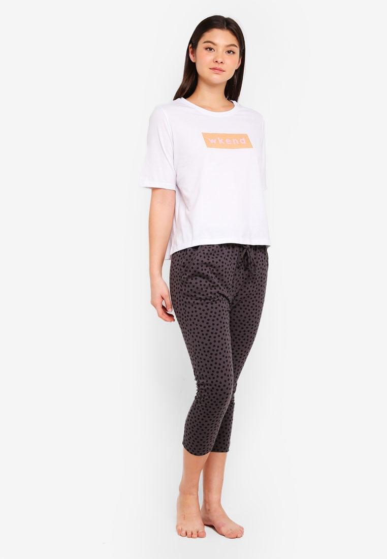 Shirt Body T Cotton Boxy On Winter White Wkend BHxqwIOtq5