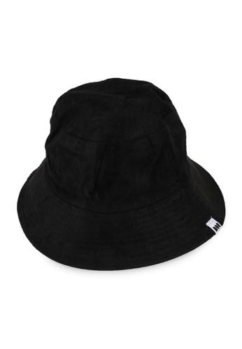 Milliot & Co. black Tatum Reversible Bucket Hat 9786FACE7C3199GS_1