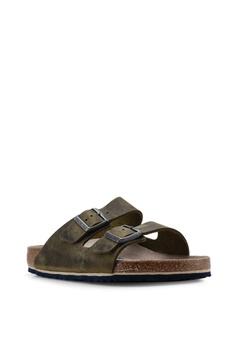 ecd419f3f4b Birkenstock Arizona Oiled Leather Soft Footbed Sandals S  159.00. Sizes 40  41 43