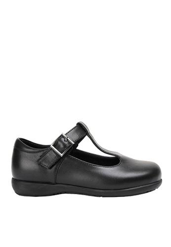 Twenty Eight Shoes 黑色 VANSA 真皮學生鞋   VSK-D180202 5C880KS368AFAFGS_1