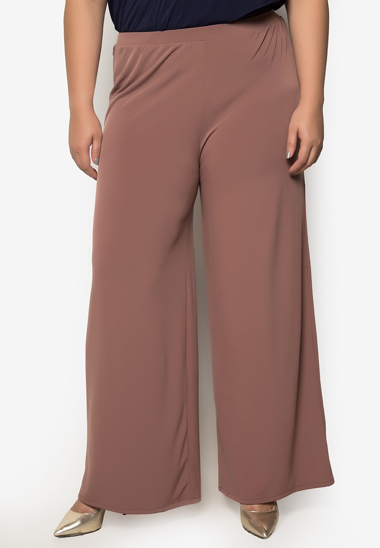 Plus Size Fairy Wide Leg Pants