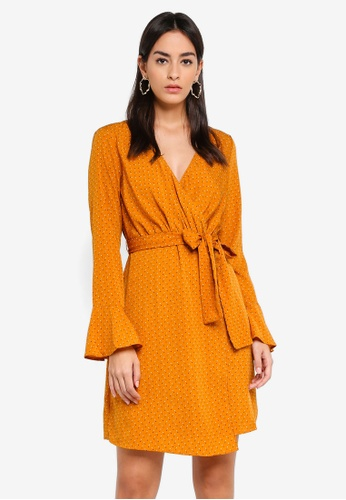 Vero Moda orange Nicky Dress F0ED4AA3FDF421GS_1
