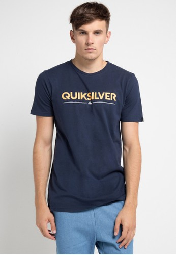Quiksilver multi and navy As Wordmark T-Shirt 0CBB0AAD419147GS_1