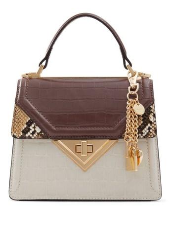 ALDO brown Embie Top Handle Bag F284AAC27422CEGS_1