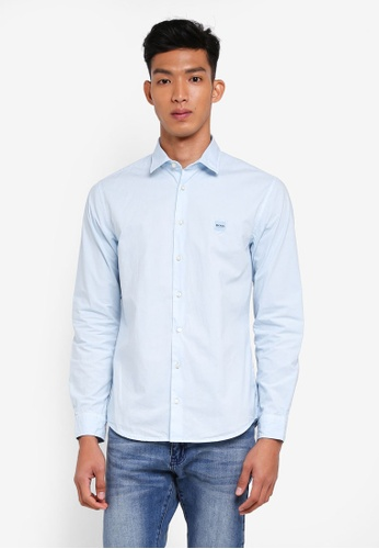 BOSS blue Mypop1 Shirt - Boss Casual CA942AA123FB83GS_1