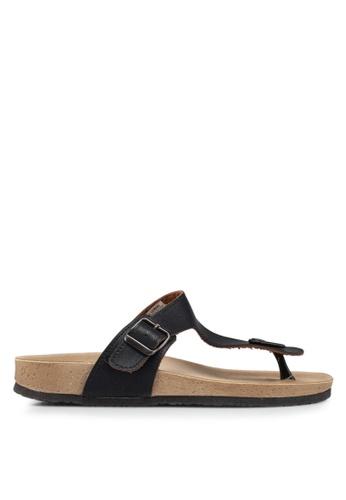 LC Waikiki black Toe Post Sandals B53D4SH06EB190GS_1