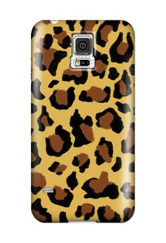 Funky Cheetah Print D Glossy Hard Case for Samsung Galaxy S5