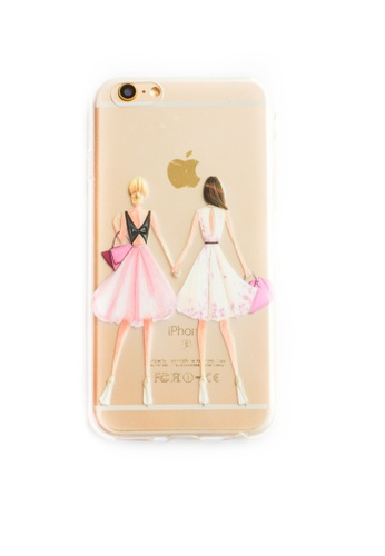 Fancy Cellphone Cases multi Besties Soft Transparent Case for iPhone 6/6s FA644AC49WGGPH_1