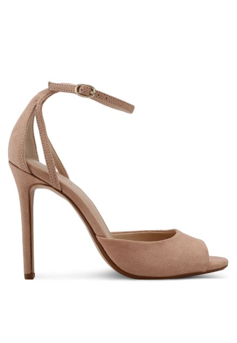 Mango pink Ankle-Cuff Sandals 97E66SHCB4C85EGS_1