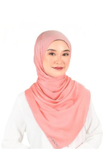 Ava Moony pink Thalia Scarf 57B81AA08D13FBGS_1