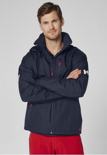 63d37a6bfc Buy Helly Hansen HH M CREW HOODED MIDLAYER JACKET NAVY Online on ZALORA  Singapore