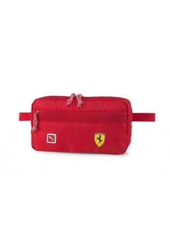 PUMA red Scuderia Ferrari Fanwear Waist Bag 774E2AC680B8BFGS_1