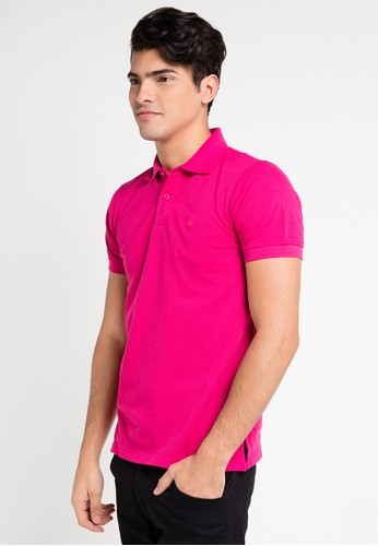 Hassenda pink Short Sleeve HA130AA0VPEPID_1