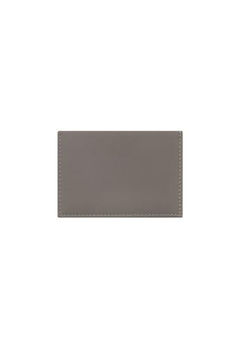 Knocks grey Bifold Namecard Holder Grey CF75CAC9D59AC6GS_1