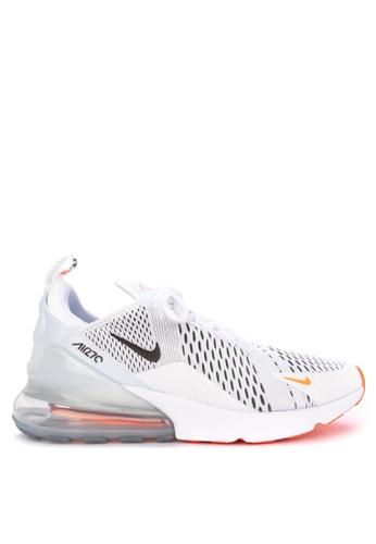 Nike white Nike Air Max 270 Shoes 2BE8BSHFD7A021GS_1