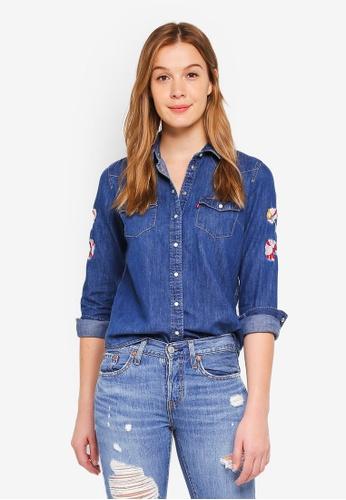 Levi's blue Ultimate Western Shirt 268B1AADFFC318GS_1