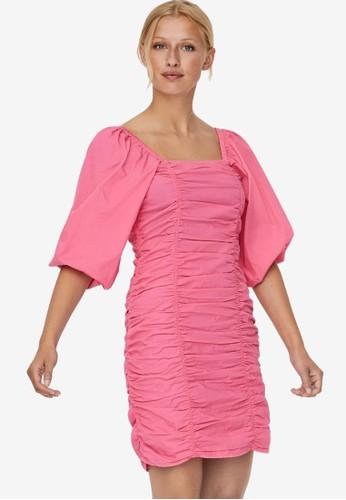 Vero Moda pink Henny Dress 0D44BAAF2620D3GS_1