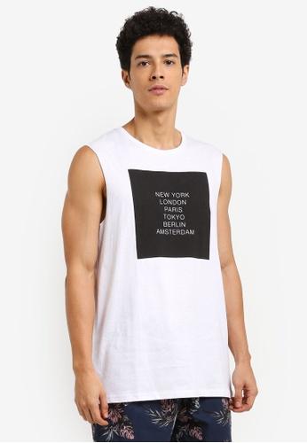 Cotton On white TBar Muscle Tee 6995DAAC4B1C02GS_1