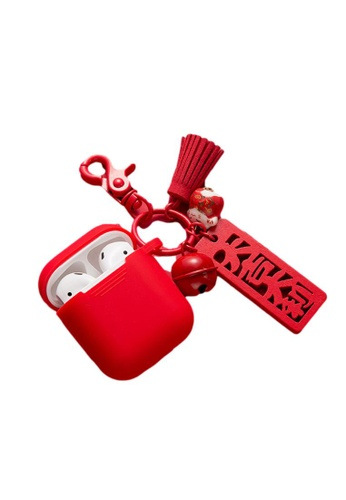Kings Collection red Red Good luck Greeting AirPods Case (UPKCAC2063) BA2A3ACC8910D6GS_1