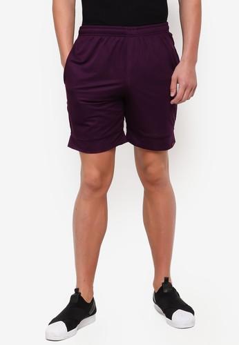 UniqTee purple Jogging Style Bermuda Shorts 6E01FAAC4EE45AGS_1