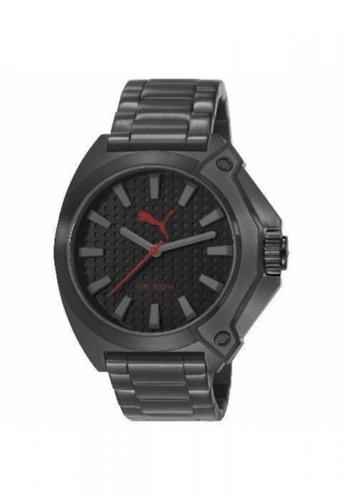 Puma Watches black PU103811004 Zone Metal Black Men Watch PU549AC0SHU6MY_1