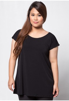 Basic Extended Sleeves Top