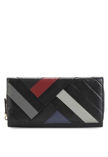 PIERRE CARDIN black Pierre Cardin Deisy  Long Wallet - Black FCBC5AC19E5D90GS_1