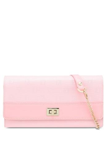 4377e0d2ec85 PLAYBOY BUNNY pink Playboy Bunny Ladies Purse Sling Bag 06857ACA616DDBGS 1