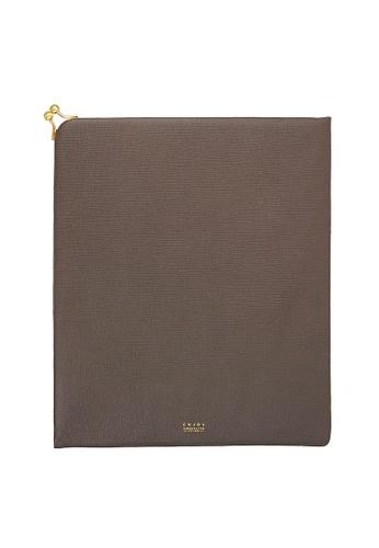 Enjoybag Matilda`s Italian Cowhide Leather Tablet Case EN763AC64JGLHK_1