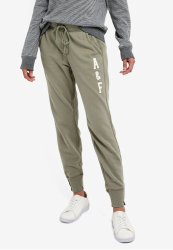 Abercrombie & Fitch green Core Jogger Pants 5F188AAD100CFFGS_1