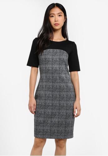 Esprit black Knitted Mini Dress ES374AA0RVBQMY_1