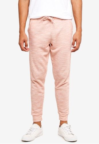 threads by the produce pink Cotton Joggers 78DB1AA717011DGS_1