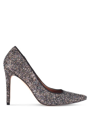 ZALORA 黑色 Glitter High Heels E04EASH9D04EF7GS_1