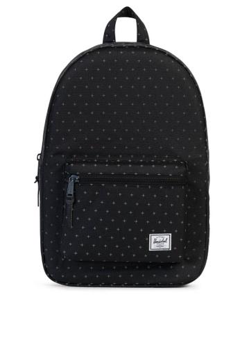 Herschel black Settlement Backpack HE958AC0KA4VPH_1