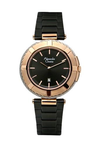 Alexandre Christie black and gold Alexandre Christie 2867 - Jam Tangan Wanita - Stainless Steel - Hitam Rosegold 04401ACFF9295CGS_1