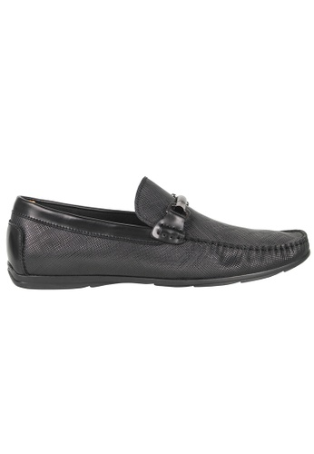 Tomaz black Tomaz C283 Front Buckle Loafers (Black) 138D1SH5CD8B77GS_1