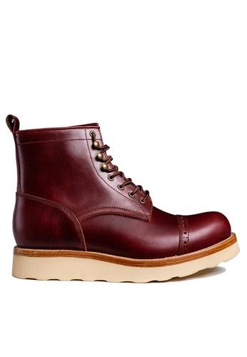 Twenty Eight Shoes Vintage Leather Martin Boot BL612-3 64D36SH21D01A5GS_1