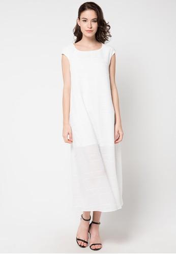 WHITEMODE white Cherish Dress WH193AA83REEID_1