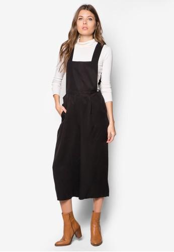 簡約吊帶褲, zalora 內衣服飾, 服飾